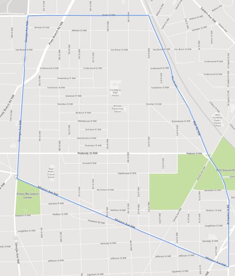 Manor Park Historical Boundaries
